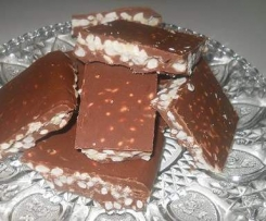 Cioccolato con riso soffiato <3