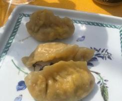 RAVIOLI AL VAPORE CINESI (pesce)