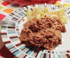 Hummus di ceci e tonno con ingredienti semplici - contest legumi