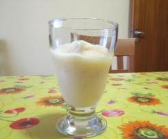 gelato allo yogurt con le pesche