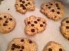 cookies integrali con gocce di cioccolata