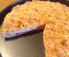 Torta Sbriciolata alla ricotta e marmellata
