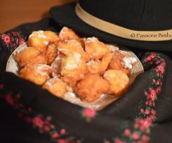 Frittelle di Mela e Arancia