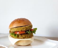 Burger con piselli e ricotta - contest legumi