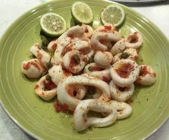 Calamari all'acqua pazza