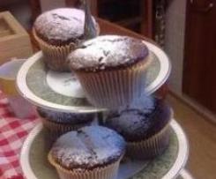 Muffin al cacao leggeri!