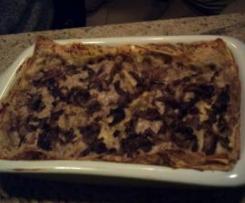 Lasagne al radicchio (ricetta di B.Parodi) adattata per il Bimby