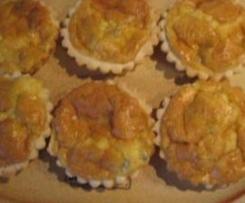 tortine al gorgonzola