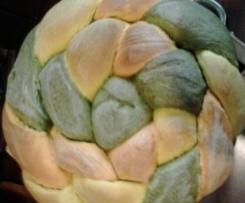 Pane tricolore con lievito madre