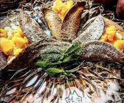 Crêpes di grano saraceno pesche  e ricotta /Contest pesche