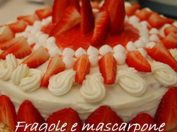 Ricette bimby fragole e mascarpone