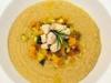 Passatina di ceci con dadolata di verdure e pesce spada al profumo di rosmarino - della blogger Cristina
