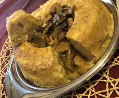 Corona di patate con funghi a varoma