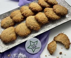 Biscotti farina cocco (vegani)