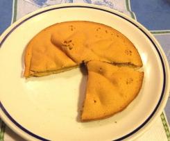 Tortina-biscottata bruttissima ma con pochi grassi aromatizzata arancio e cannella