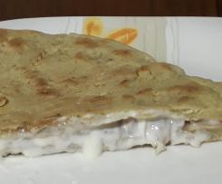Piadina crudo e formaggio