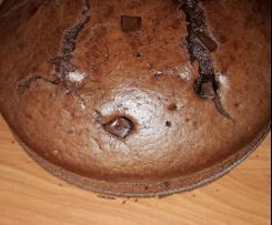 Torta al cacao senza latte e lattosio
