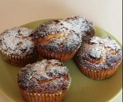 muffin al cocco con fruttosio