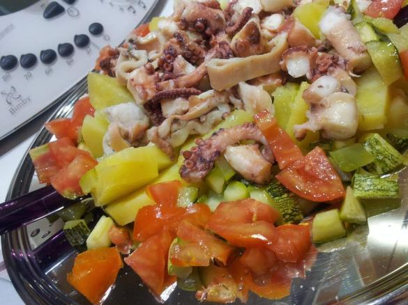 Polpo e patate è un ricetta creata dallutente ilaria bottalico
