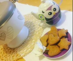 Biscotti arancia e cannella (Vegani)
