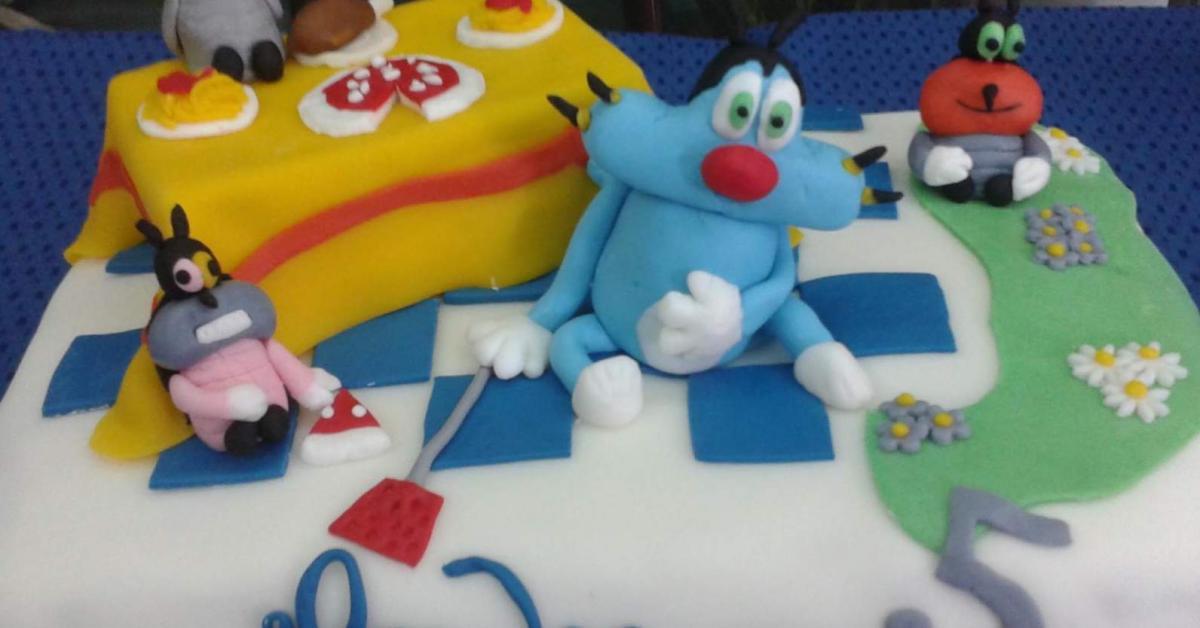 Torta Compleanno Oggy E I Maledetti Scarafaggi.Torta Oggy E I Maledetti Scarafaggi E Un Ricetta Creata Dall Utente Ammila Questa Ricetta Bimby Potrebbe Quindi