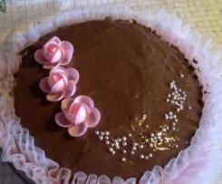 torta al cioccolato con crema bimby