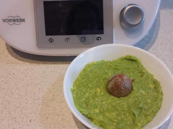 Ricetta salsa guacamole bimby