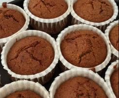Muffin al caffè senza uova nè lievito