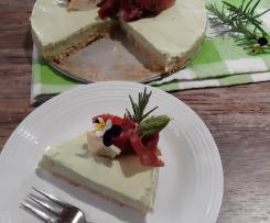 Cheesecake salata ai  asparagi (contest primavera)