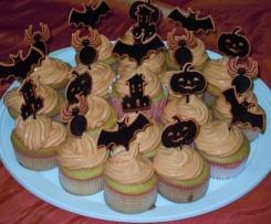 Cupcakes di Halloween con Frosting Stregato!