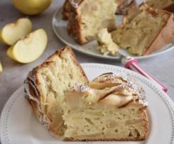 Variante di Torta di mele --> TORTA DI MELE DELLA NONNA (SENZA BURRO)