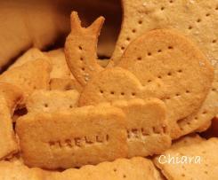 Crackers con farina di piselli