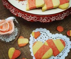 Cuori di vaniglia e limone (San Valentino)