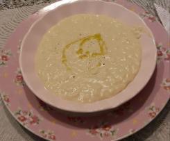 Zuppa di ceci, latte e riso