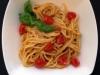 Spaghetti pomodorini e salmone