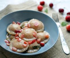 Ravioli alle ciliegie - contest ciliegie