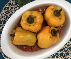 Peperoni ripieni al Varoma