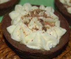 Piccole Frolle alla Crema di Cioccolato Bianco
