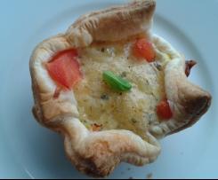 Mini Tortine al pomodoro contest lunchbox