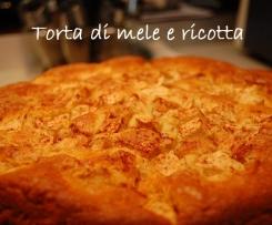 TORTA DI MELE E RICOTTA (ricetta riadattata al bimby)
