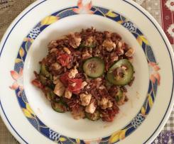 Insalata di riso rosso con pesce spada-Contest secondi di pesce