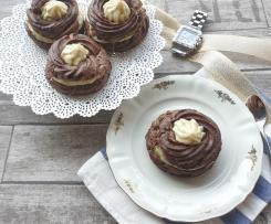 Zeppole al cacao per la festa del papà - senza glutine