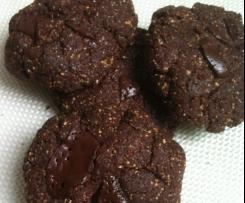 Biscotti al cacao e burro d'arachidi (senza lattosio)