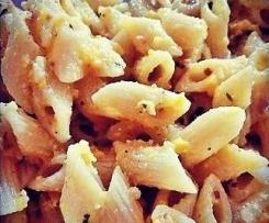 Pasta Fredda al Pesto di Peperoni, Menta e Mandorle