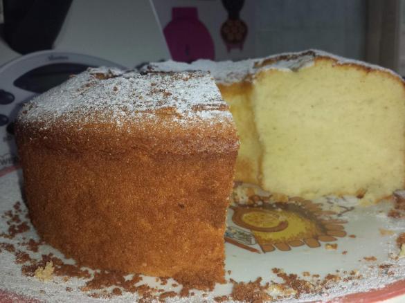 Ricetta Bimby Ciambella.Chiffon Cake O Ciambella Americana