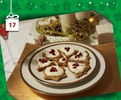 Crema di gorgonzola e champagne su crostini integrali - Natale