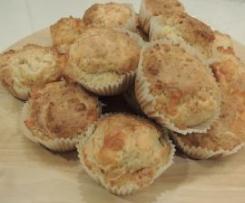 Muffins ciabuscolo e scamorza