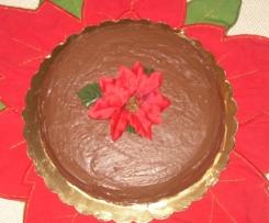 torta al caffè con cioccolata bianca