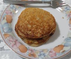 Pancake integrali con acquafaba