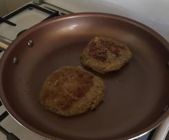 Hamburger vegetariani di funghi, ceci e mais-Contest funghi